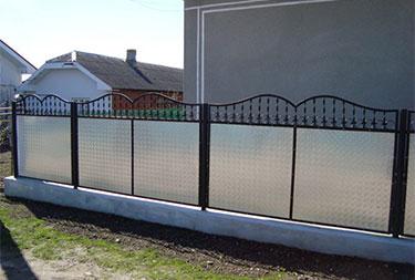 Квинтет забор