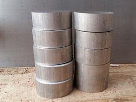 Резка алюминиевых прутков