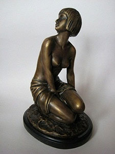 Бронзовая статуэтка БрОЦС5-5-5
